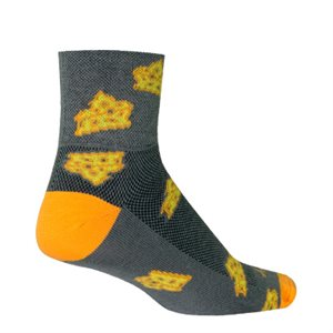 Cheesy socks
