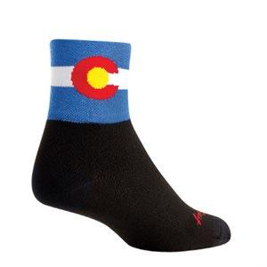 Colorado Flag 2 socks