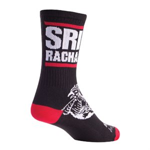 Sriracha Black socks