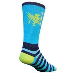 Griffin Turquoise socks