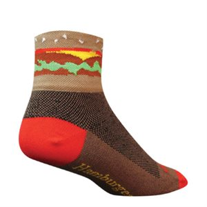 Hamburger Time socks