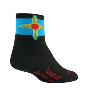 New Mexico Flag socks