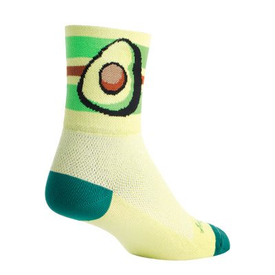 "Avocado 4"" socks"