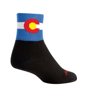 Colorado Flag 2 socks