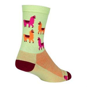 Mo' LLamas socks