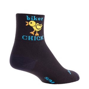 Biker Chick socks