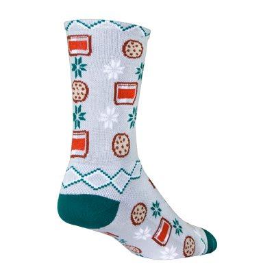 Santa Snacks socks