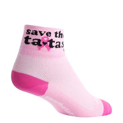 Save the Tatas Pink socks