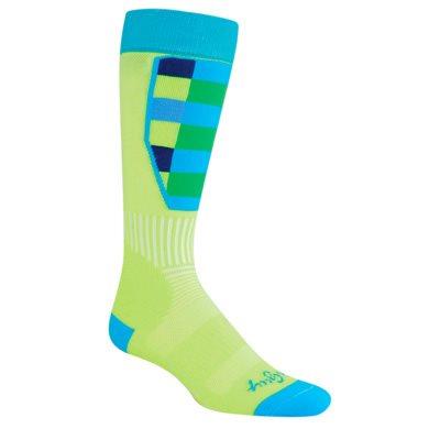 Green Plaid socks