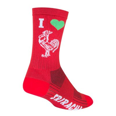 SGX I Heart Sriracha socks