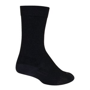 SGX Wool Black socks